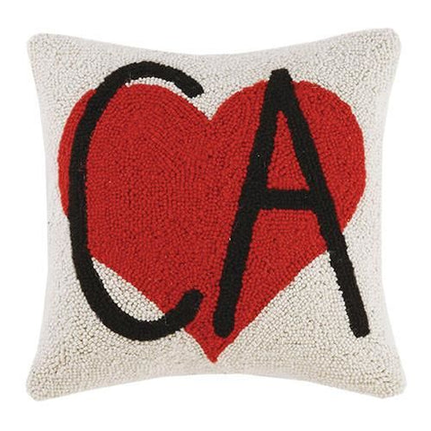 Ca Heart Pillow 14X14