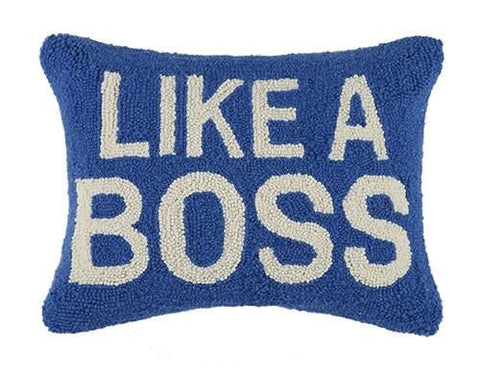 Like A Boss Pillow 12X16