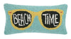 Beach Time Sunglasses Pillow
