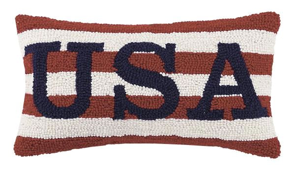 Usa Hook Pillow 9X16