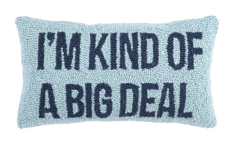 Big Deal Hook Pillow 9X16