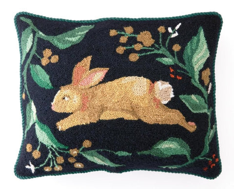 Rabbit Run Hook Pillow 16X20