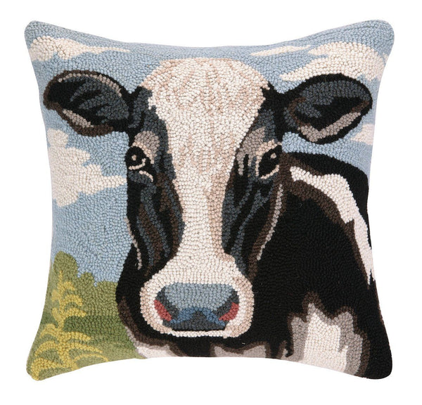Cow Hook Pillow 18X18