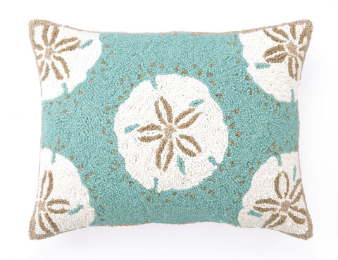 Sand Dollars Hook Pillow 16X20