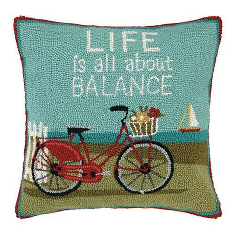 Life Is All About Balance Pillow