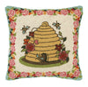 Secret Garden Bees Ii Pillow
