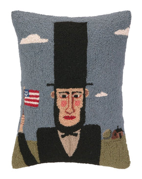 Abraham Lincoln Hook Pillow