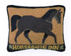 Horseshoe Inn Hook Pillow