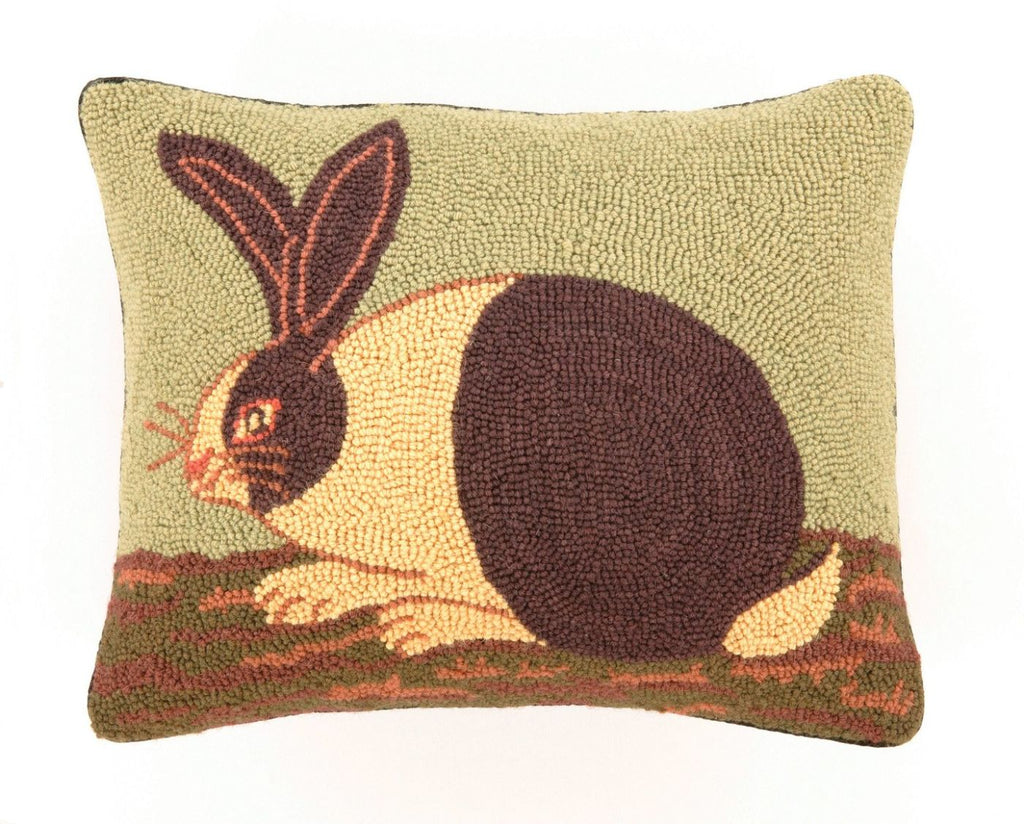 Cozy Bunny Hook Pillow 14X18