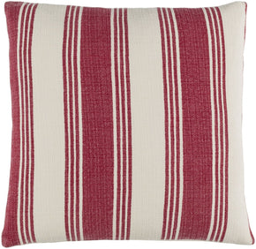 Anchor Bay Throw Pillow Red Neutral