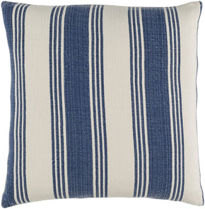 Throw Pillows - Surya ACB004-1818D Anchor Bay Throw Pillow Blue, Neutral | 888473482314 | Only $50.00. Buy today at http://www.contemporaryfurniturewarehouse.com