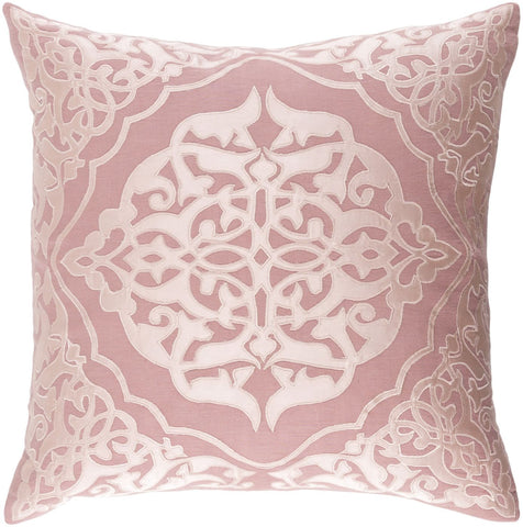 Adelia Throw Pillow Pink