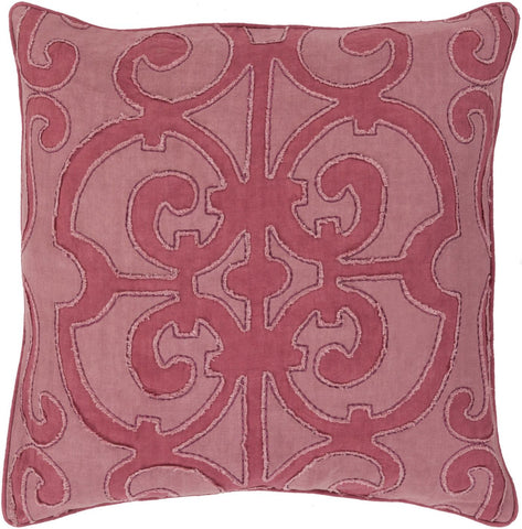 Amelia Throw Pillow Pink