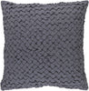 Ashlar Throw Pillow Gray