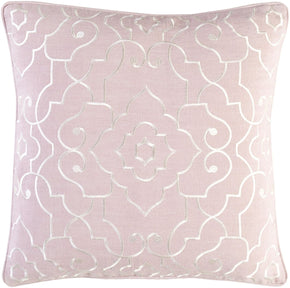 Adagio Throw Pillow Pink Neutral