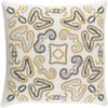 Avana Throw Pillow Neutral Yellow
