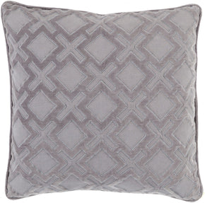 Alexandria Throw Pillow Gray