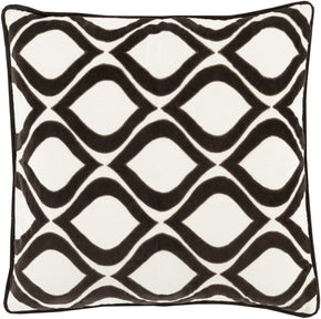 Alexandria Throw Pillow Black Neutral