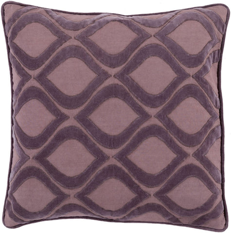 Alexandria Throw Pillow Purple