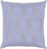 Skyline Throw Pillow Blue Gray