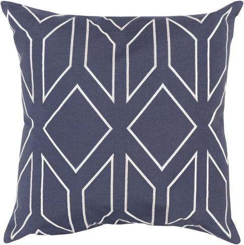 Skyline Throw Pillow Blue Neutral