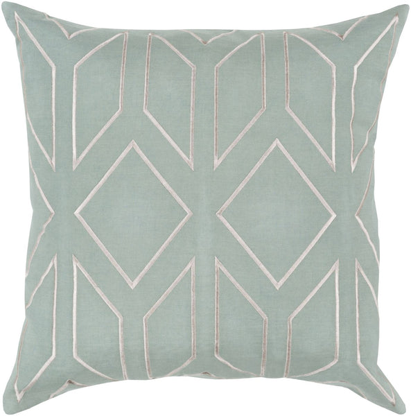 Skyline Throw Pillow Green Neutral