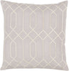 Skyline Throw Pillow Gray Neutral