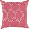 Skyline Throw Pillow Pink Gray