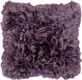Prom Throw Pillow Purple