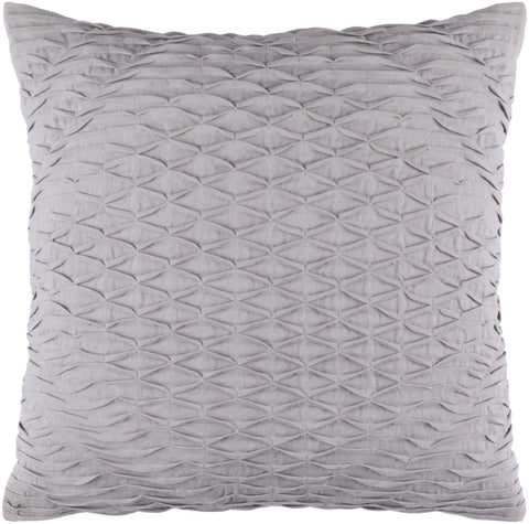 Baker Throw Pillow Gray
