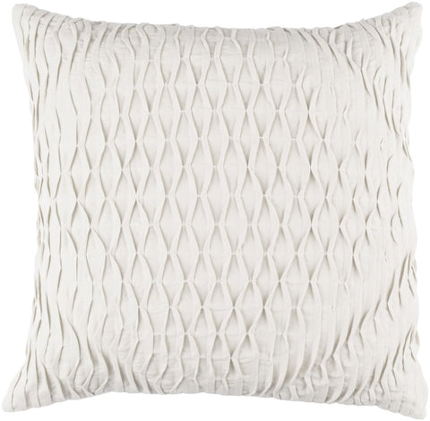 Throw Pillows - Surya BK005-1818D Baker Throw Pillow Gray | 888473204084 | Only $66.00. Buy today at http://www.contemporaryfurniturewarehouse.com