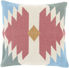 Cotton Kilim Throw Pillow Red Neutral
