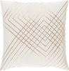 Crescent Throw Pillow Neutral Brown