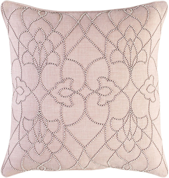 Throw Pillows - Surya DP003-1818D Dotted Pirouette Throw Pillow Brown, Purple | 888473532781 | Only $87.60. Buy today at http://www.contemporaryfurniturewarehouse.com