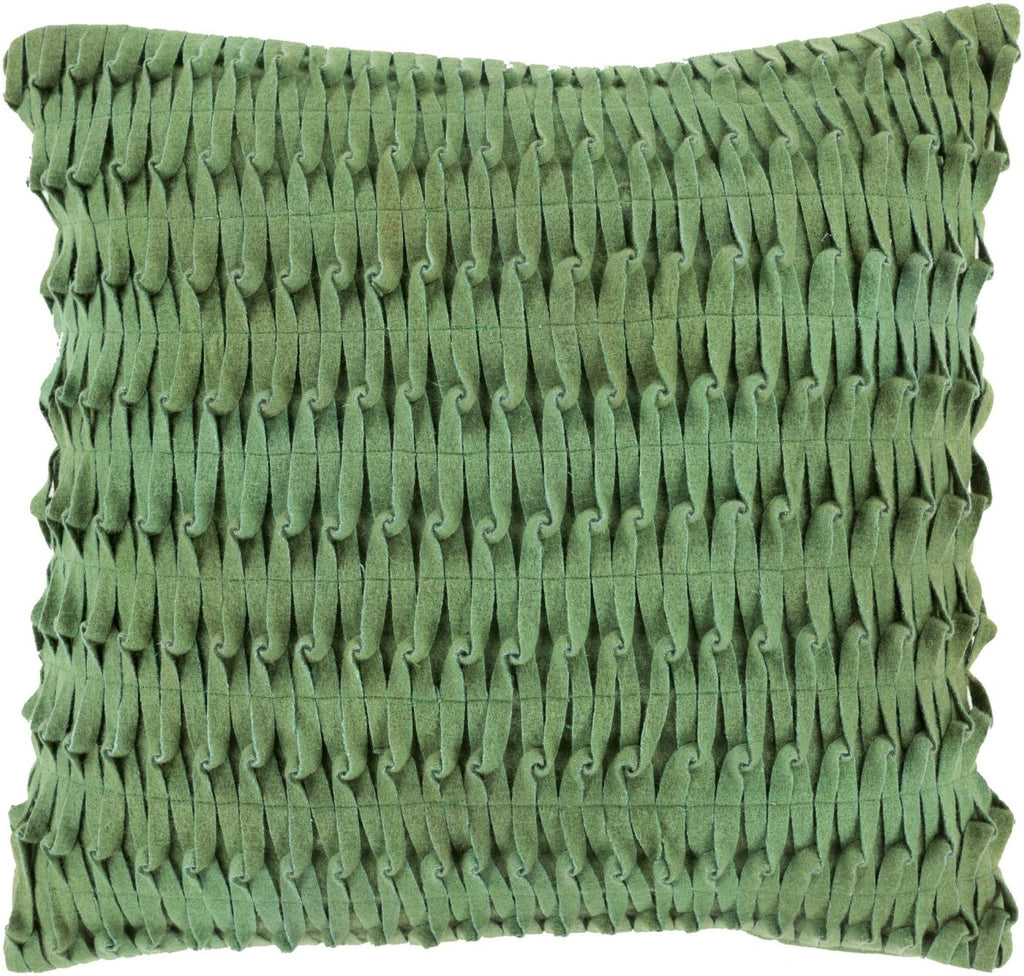 Eden Throw Pillow Green