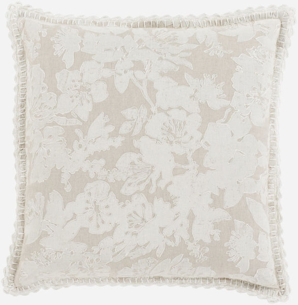 Evelyn Throw Pillow Gray Neutral