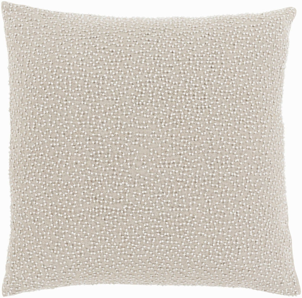 Eliza Throw Pillow Gray Neutral