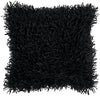 Nitro Throw Pillow Black