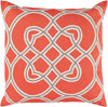 Jorden Throw Pillow Orange Brown