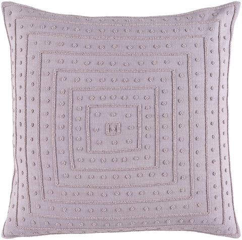Gisele Throw Pillow Purple