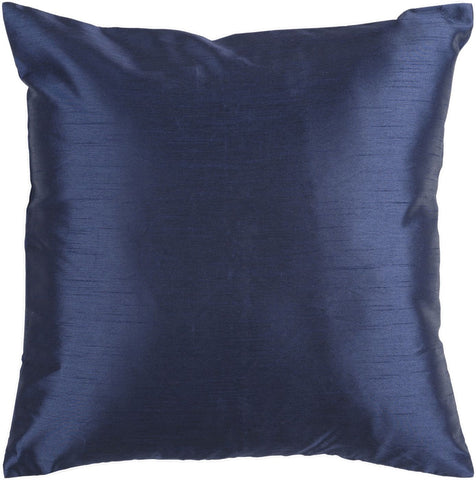 Solid Luxe Throw Pillow Blue
