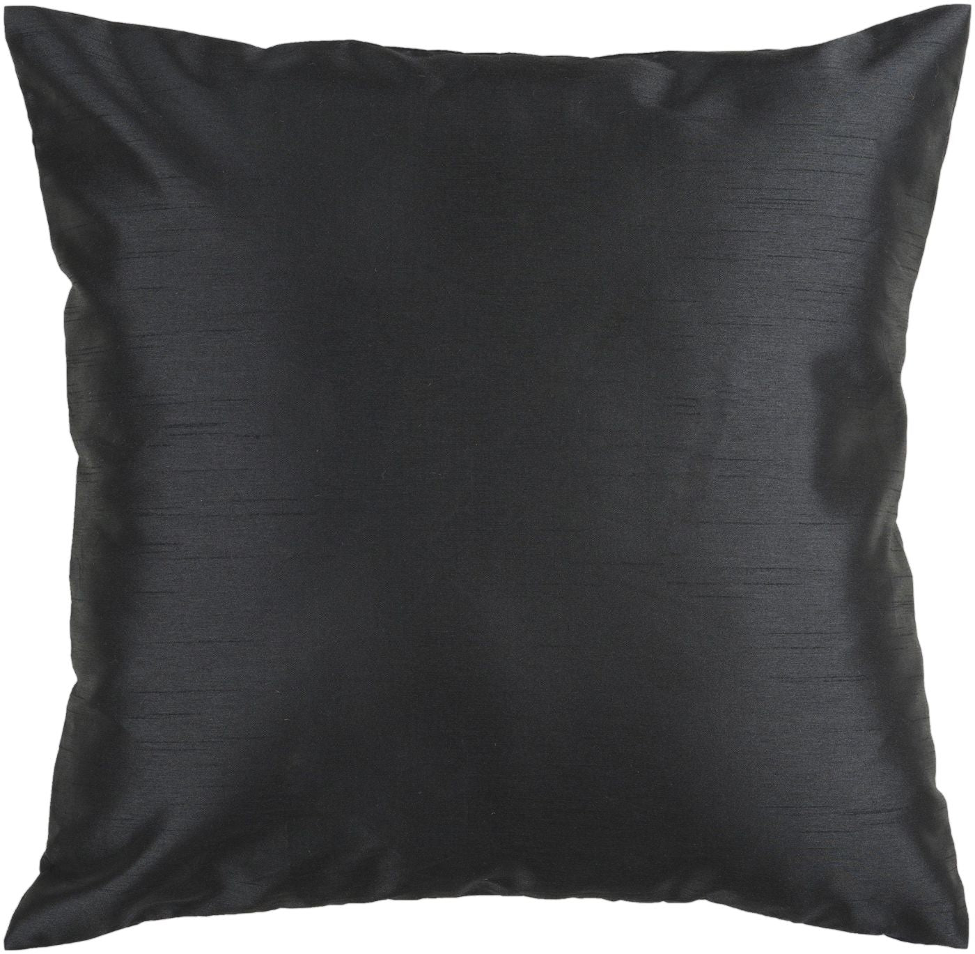 Surya Solid Luxe Throw Pillow Black HH037-1818P. Only $18.00 at Contemporary Furniture Warehouse.