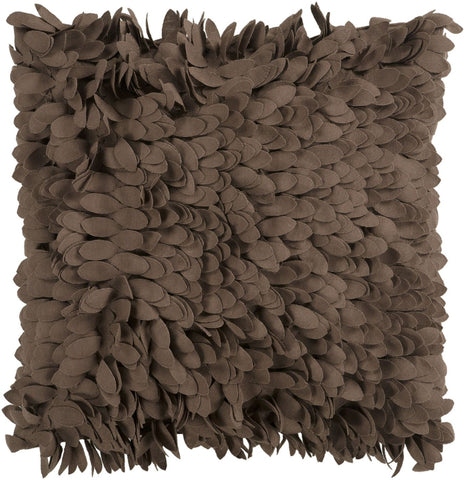 Claire Throw Pillow Brown