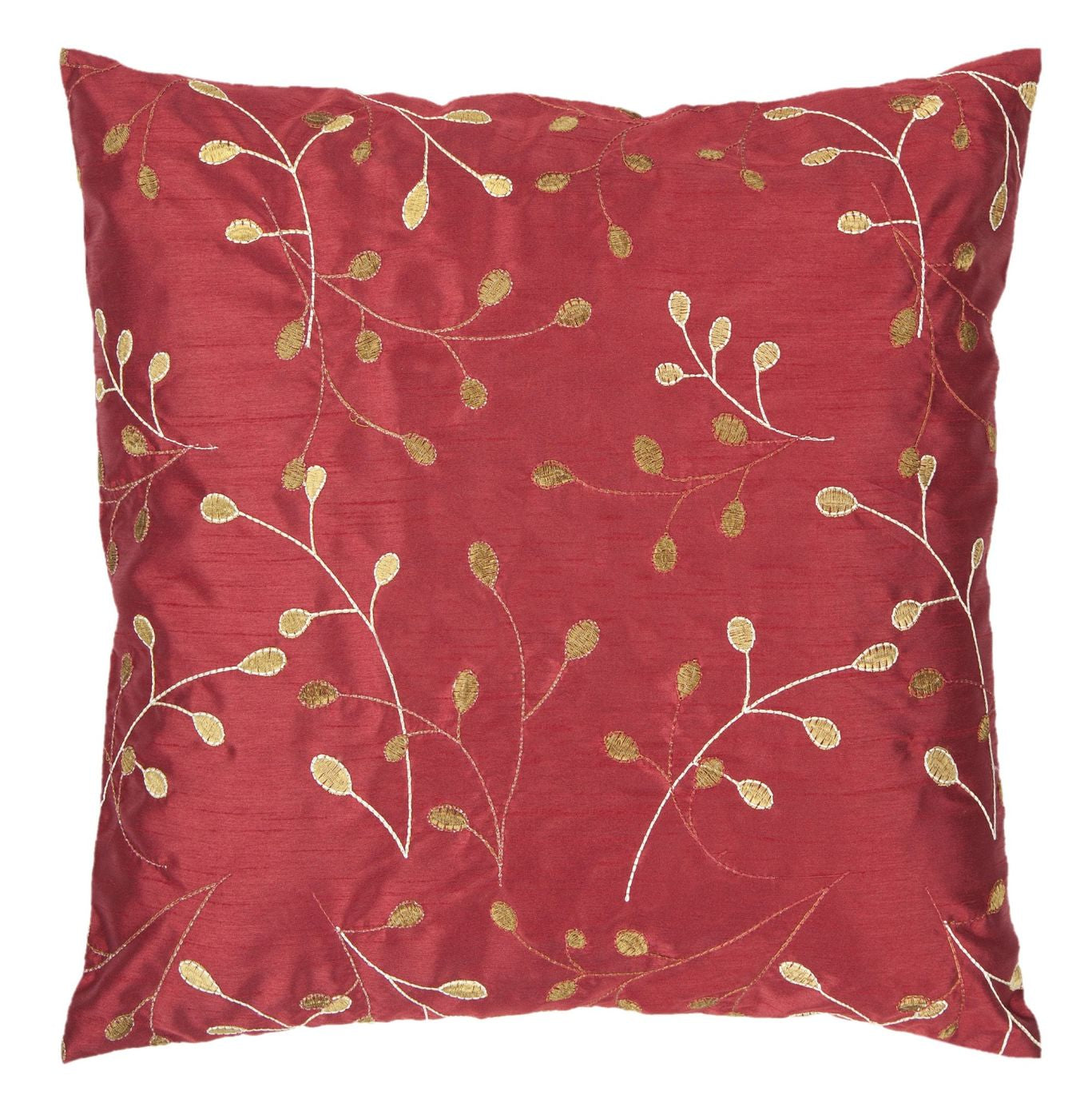Throw Pillow Warehouse : Surya Blossom Throw Pillow Red, Brown HH093-1818D. Only $39.60 at Contemporary Furniture Warehouse.