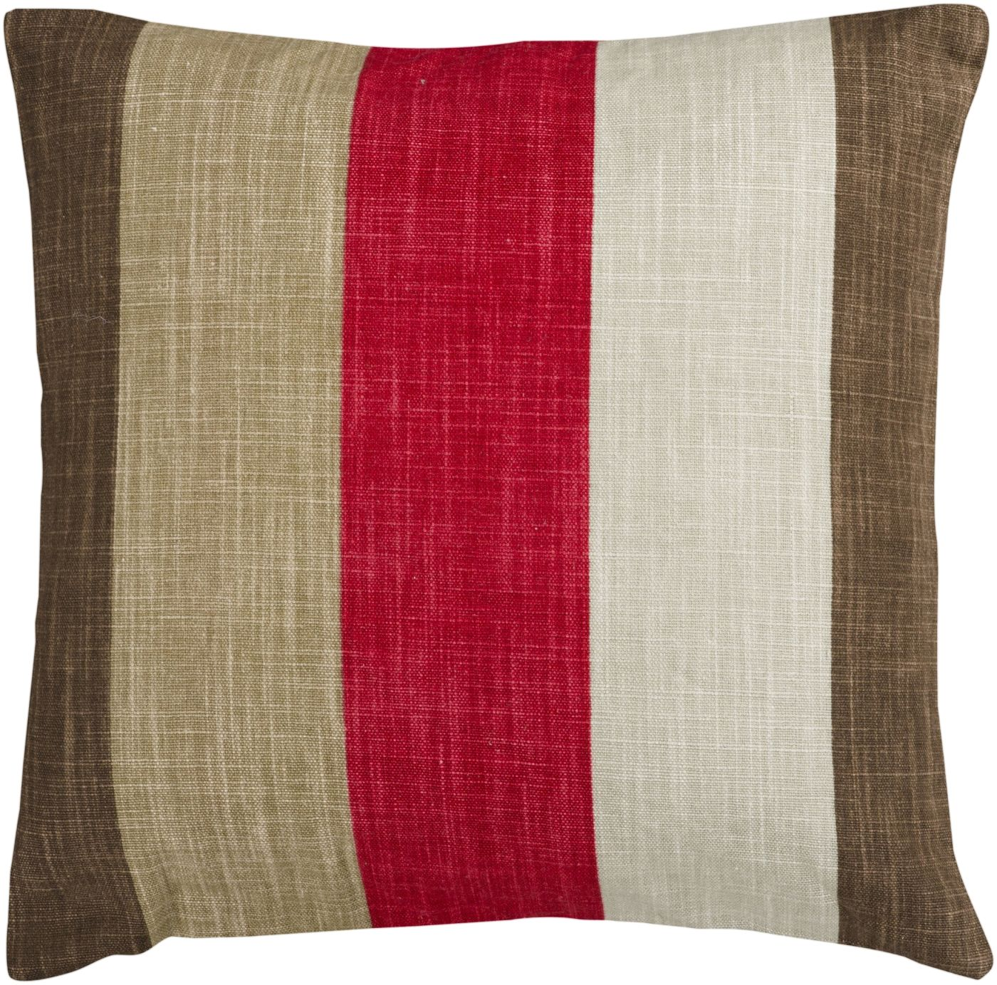 Cute Neutral Throw Pillows : Surya Simple Stripe Throw Pillow Neutral, Brown JS012-1818P. Only $36.00 at Contemporary ...