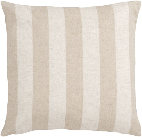 Simple Stripe Throw Pillow Neutral