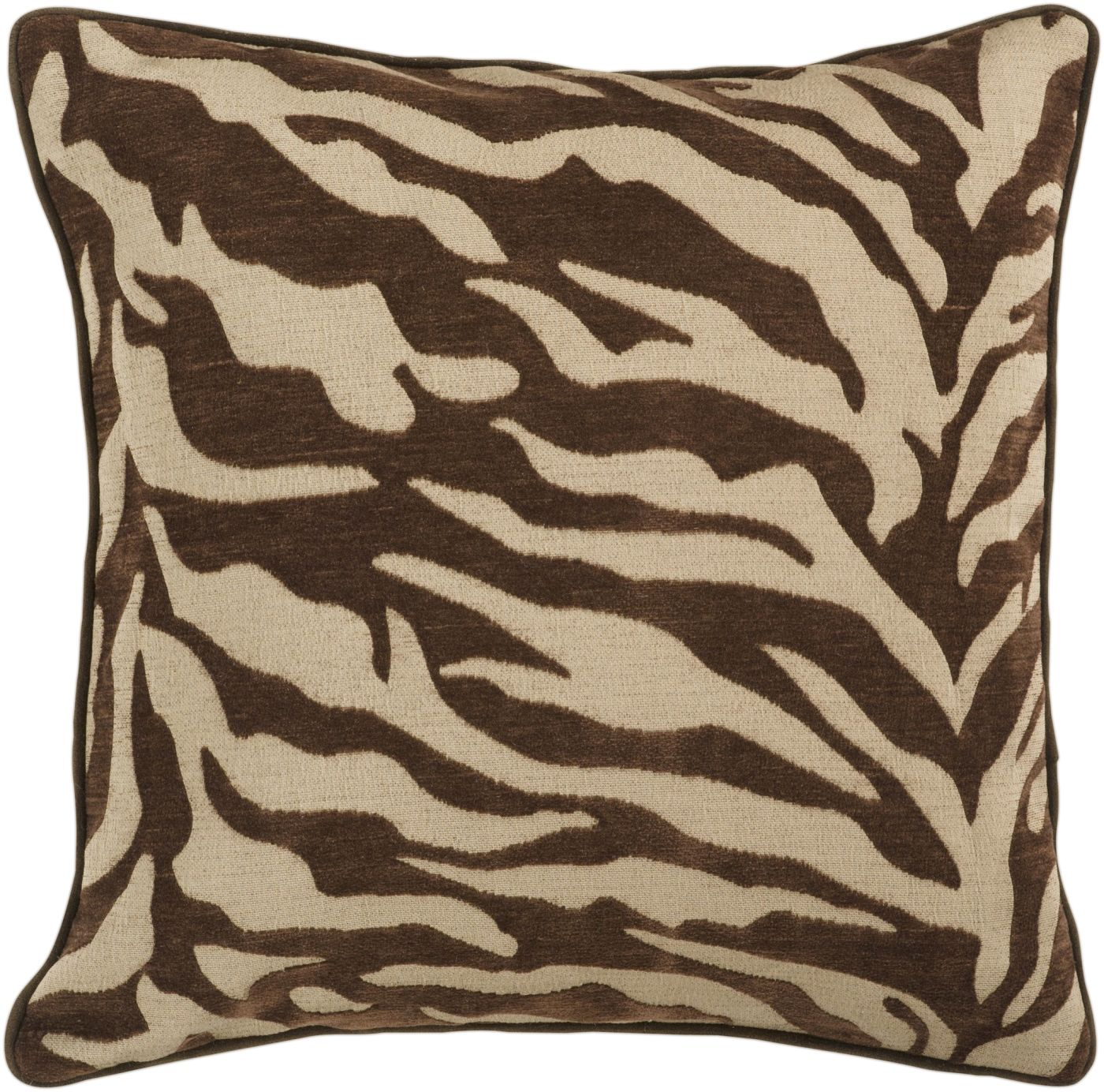 Awe Inspiring Surya Blowout Sale Up To 70 Off Js033 1818D Velvet Zebra Throw Pillow Brown Brown Only Only 39 60 At Contemporary Furniture Warehouse Uwap Interior Chair Design Uwaporg