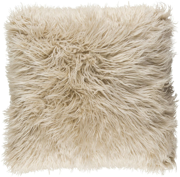 Kharaa Throw Pillow Khaki