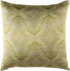 Kalos Throw Pillow Neutral Green