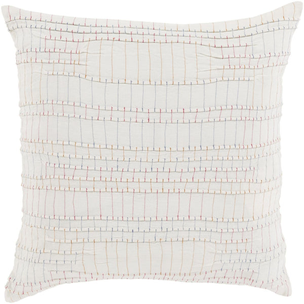 Keaton Throw Pillow Red Orange
